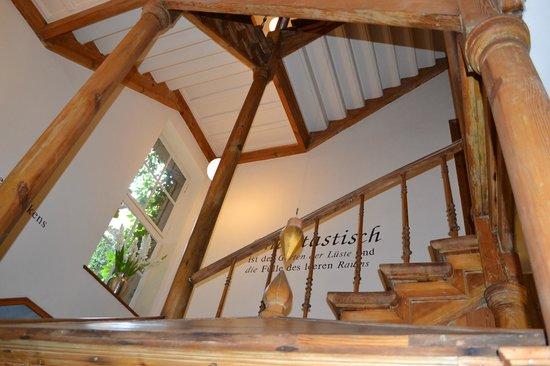 Arte Luise Kunsthotel: Restored historic interior