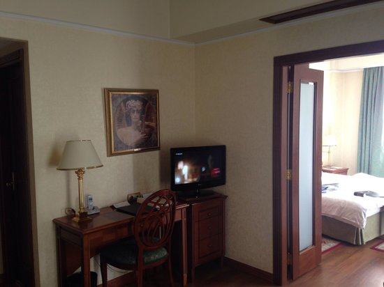 Electra Palace Thessaloniki: Superior Suite - Wohnbereich