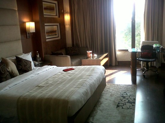 The Bristol Hotel: my room..