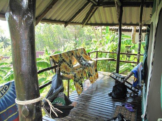 Tenta Nakara : Room portch/varanda