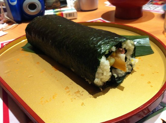Sushitsune Akabane: Sushitsune Eho Maki (It's huge...)