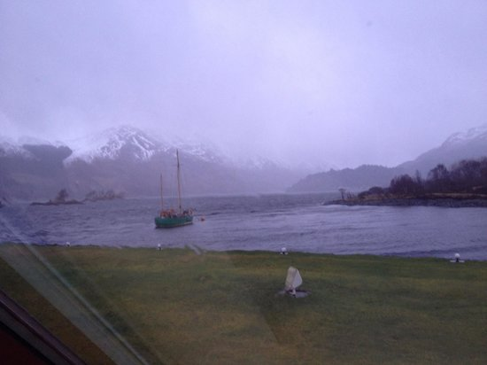 Isles of Glencoe Hotel & Leisure Centre: View from our room