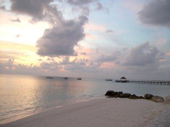 Diamonds Thudufushi : les couchers de soleil