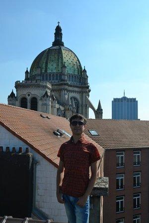 Hotel Albert: Вид с крыши отеля
