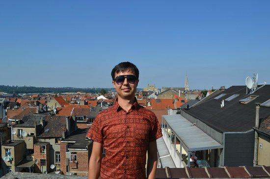 Hotel Albert : Вид с крыши отеля