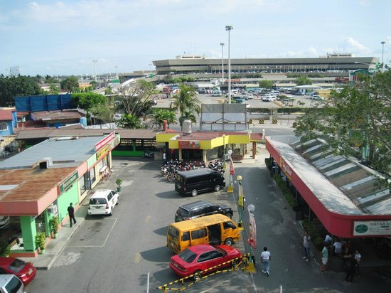 Manila Airport Hotel : View to Terminal 1
