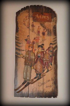 Au Balcon de Verchaix : Cadre ancien
