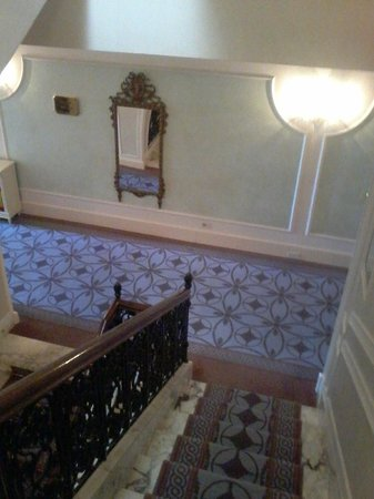 Grand Hotel Des Bains: Scalone