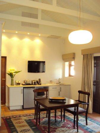 Klein Welmoed Luxury Guest House: Kitchenette in Shiraz Cottage