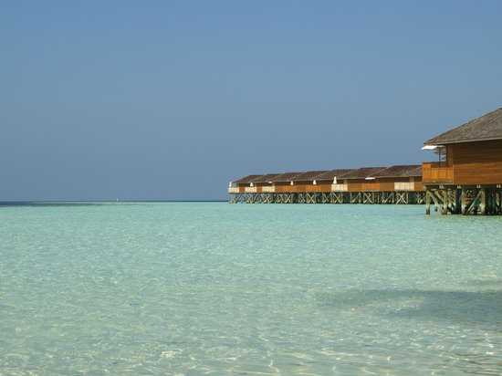 Vilamendhoo Island Resort & Spa: Jacuzzi Water & Jacuzzi Beach Villas Area (Adult Only)