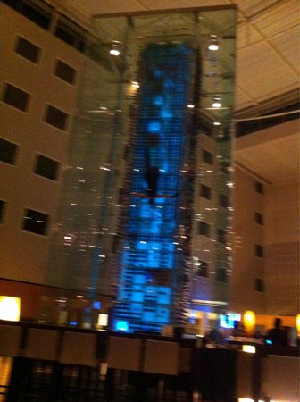 Radisson Blu Hotel London Stansted Airport: Wine angels