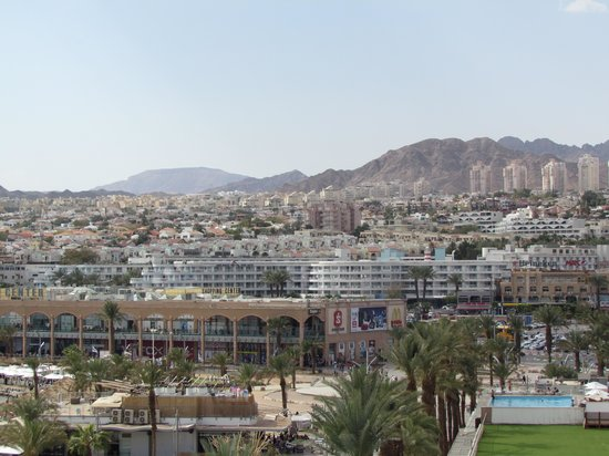 Leonardo Plaza Hotel Eilat: Вид на город