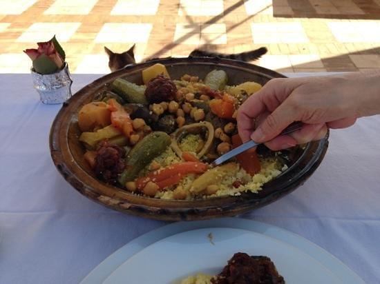 Hotel & Spa Riad Dar Sara: rico rico cuc cus delicioso
