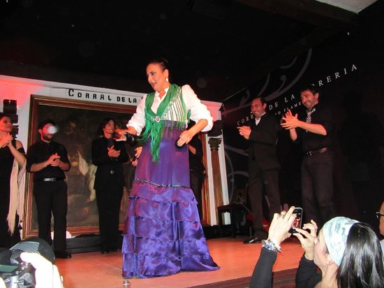 Corral de la Moreria: Great flamenco dancing and music