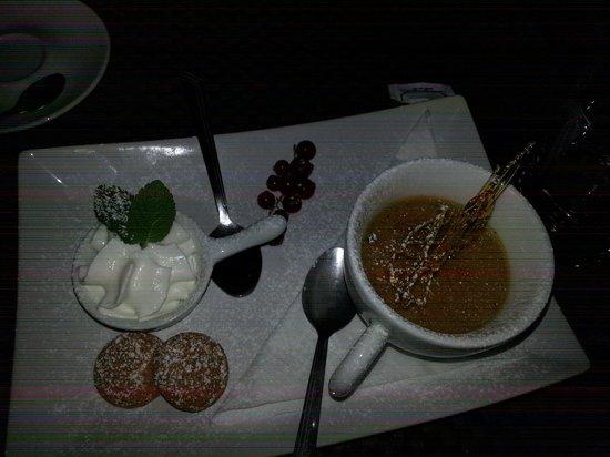 Zest Ristorante & Wine Bar: La creme brulle