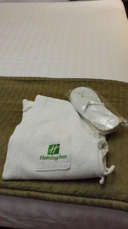 Holiday Inn Newcastle - Jesmond : HI Jesmond - Bathrobe/slippers