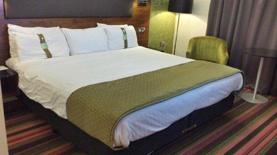 Holiday Inn Newcastle - Jesmond : HI Jesmond - Comfortable bed