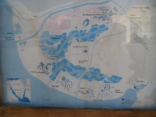 Sofitel Taba Heights: карта місцевості