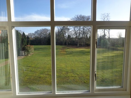 Savill Court Hotel & Spa : lovely view of the gardens