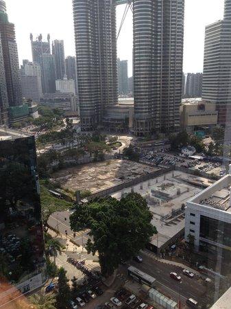Hotel Maya Kuala Lumpur : Hotel room view