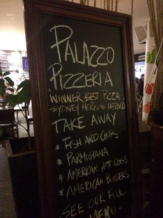 Palazzo Pizzeria and Diner