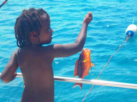 Forest Dream Resort: Fishing at Pemba island