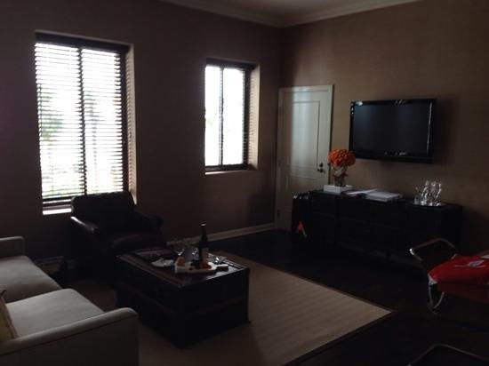 Fairmont Miramar Hotel & Bungalows: lounge area