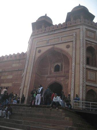 Fuerte de Agra: один из входов в форт