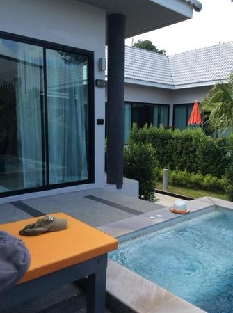 Chaweng Noi Pool Villa : private pool