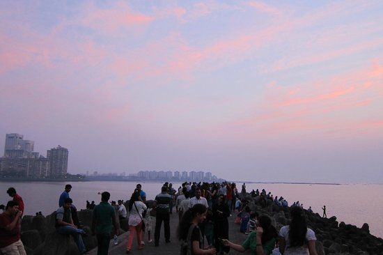 Soth tip of Marine Drive