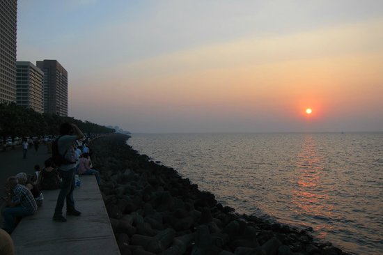 Marine Drive: End of a Great Day