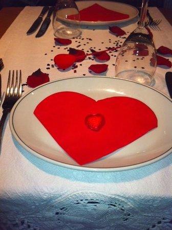 Turkish Grille Restaurant: Wonderful Valentines meal