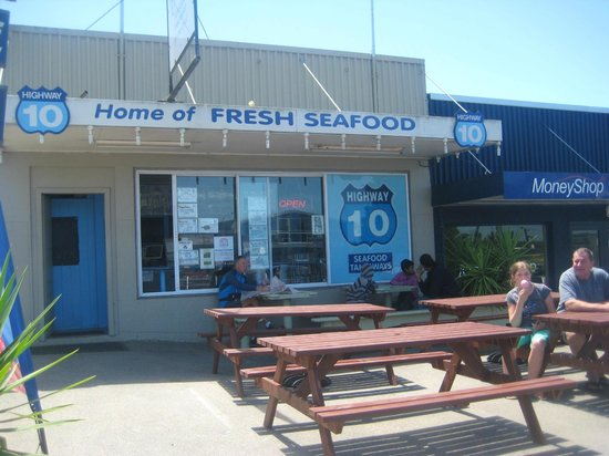 Seafood takeaways Highway 10: Great place