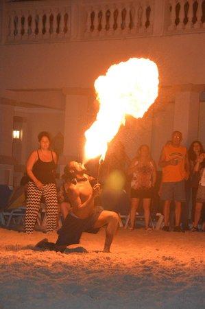 ClubHotel Riu Ocho Rios : Beach night show
