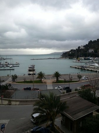 Hotel Alfiero: Blick vom Balkon