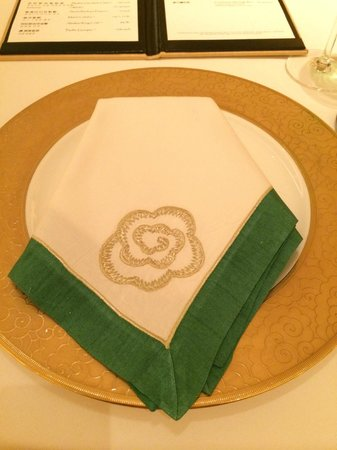 Wing Lei: Love the napkin