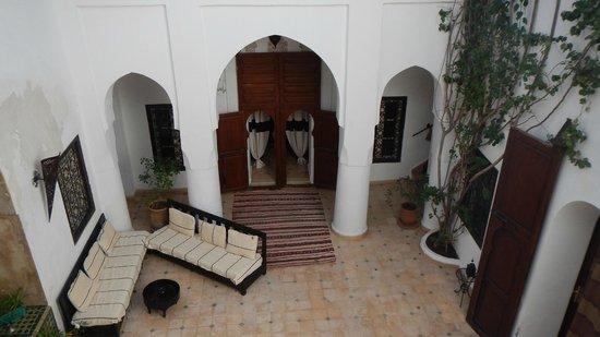 Riad Noor Charana: main coutyard
