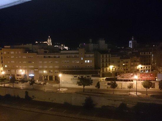 NH Malaga : vista desde la habitación