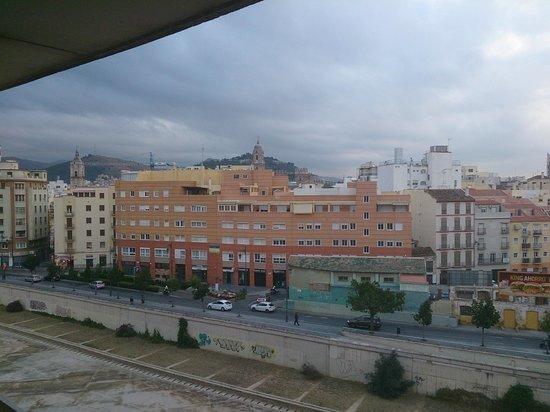 NH Málaga: vistas del centro de Málaga