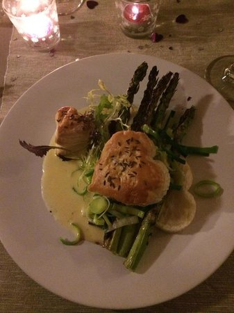 Sage: Asparagus Hearts and Chardonnay Dressing