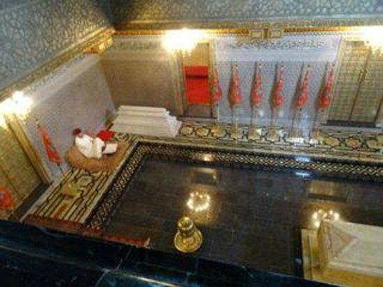 Mausolée de Mohammed V : Inside Mausoleum