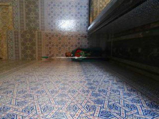 Mausolée de Mohammed V : Top level inside