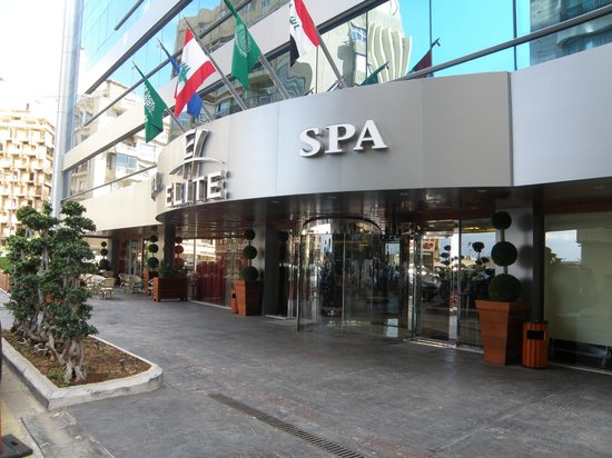 Elite Duroy Hotel & Spa : Main entrance