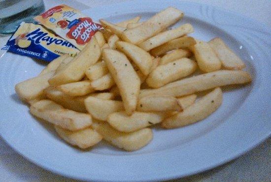 Pizzeria Barbe: Patatine fritte