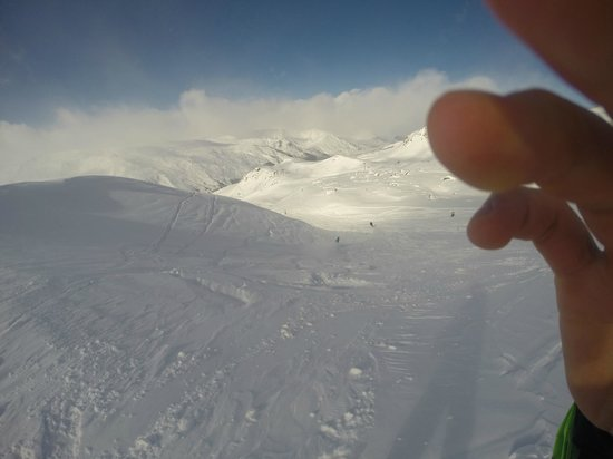 Powder N Shine Sapin de Reberty: Snow outside