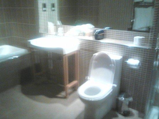 Radstone Hotel: bathroom