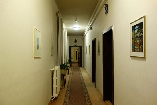Hotel Austria : коридор в номер