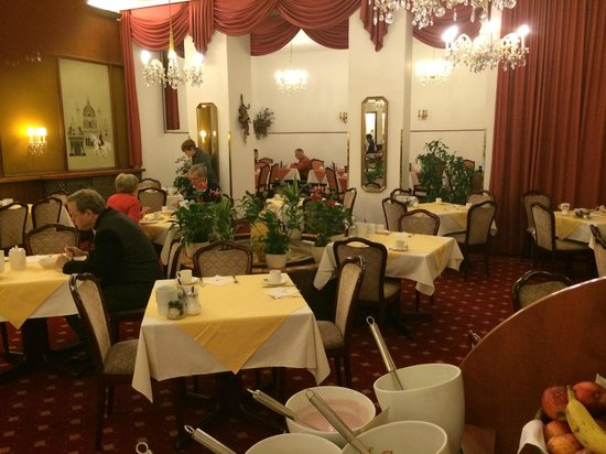 Hotel Austria: завтрак