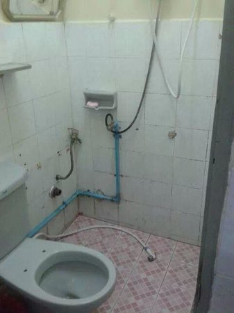 Place Inn : Our own discussing bathroom!!