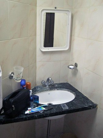 Siddharth Palace Hotel: Bathroom